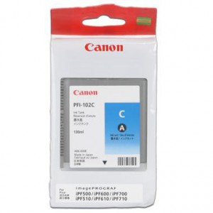 Canon cartridge PFI-102C 130ml